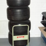 F1 tyres - Race decoration
